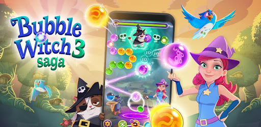 Bubble Witch 3 Saga Mod Apk 7 3 29 Unlimited Money Apkpuff