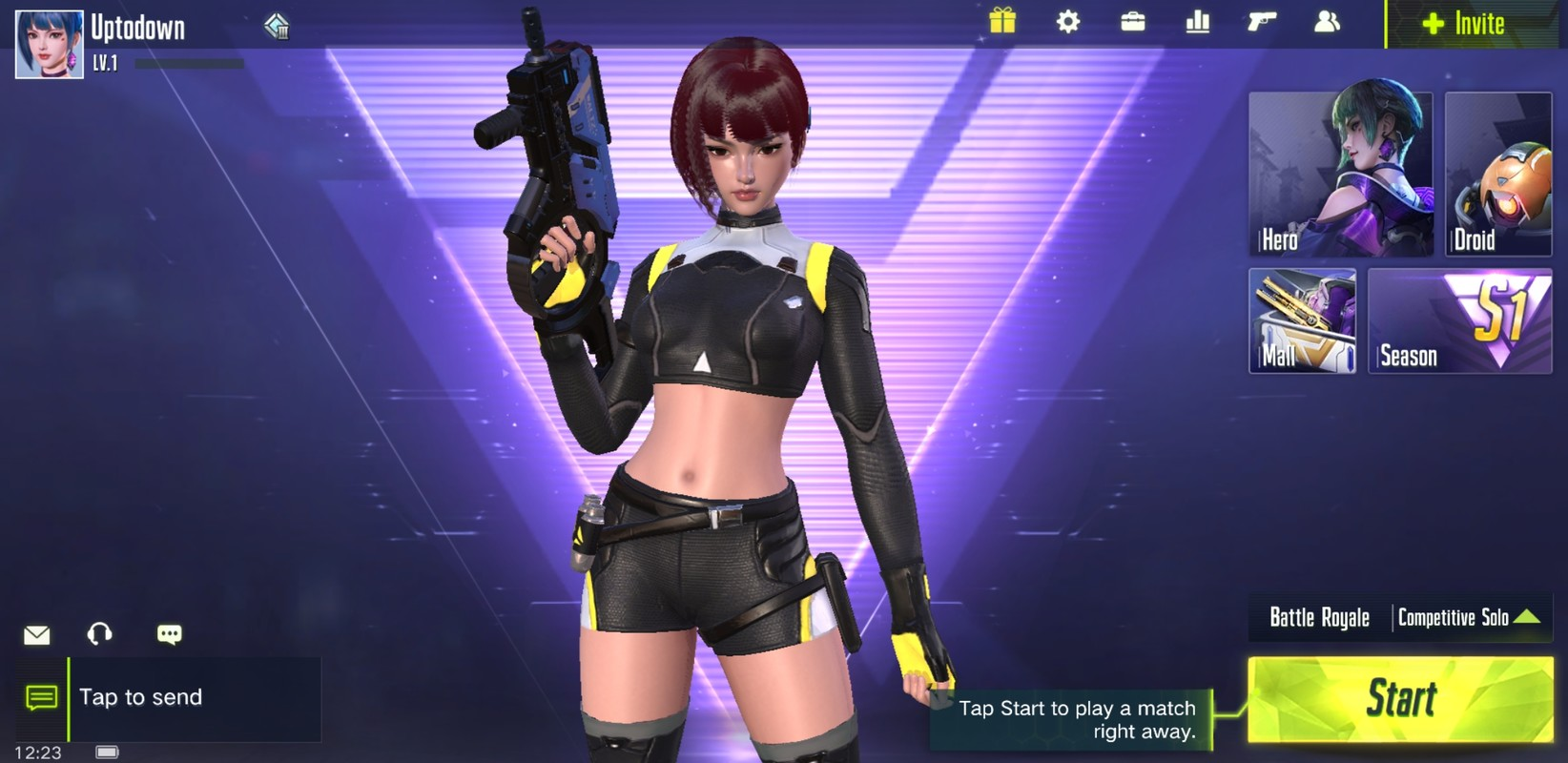 Cyber Hunter 0.100.308 Apk Data for android