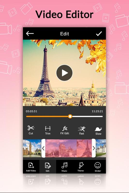 Video Maker of Photos with Music & Video Editor Pro Mod ...